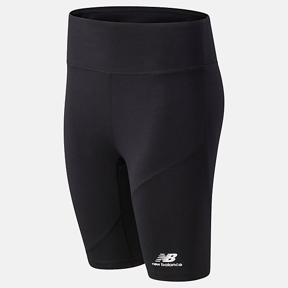 NB NB Athletics Village Fitted Shorts, WS03501BK