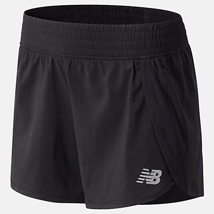 New Balance Core 3 inch Short, WS11209BK image number null
