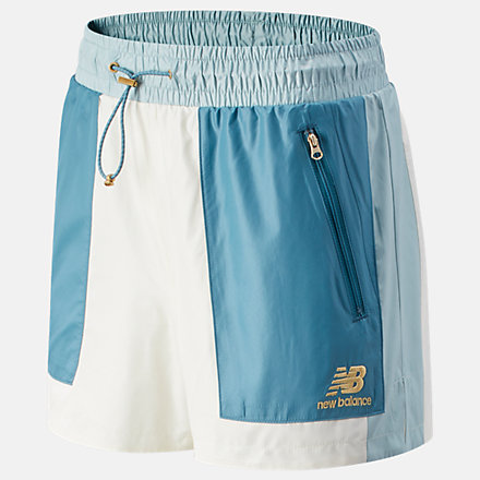 New Balance NB Athletics Higher Learning Short, WS13500STB image number null