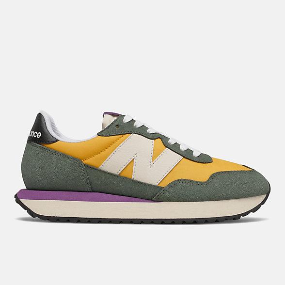 New Balance 237系列女款复古休闲鞋, WS237SB