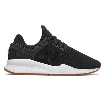 New Balance 247, Black with White
