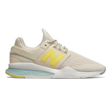 New Balance 247, Moonbeam with Mineral Sage