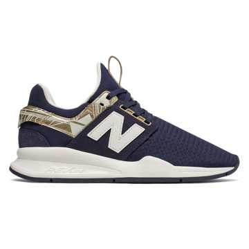 New Balance 247 Geo Metallic, Pigment with Sea Salt