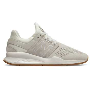 New Balance 247 Luxe, Sea Salt with Flat White