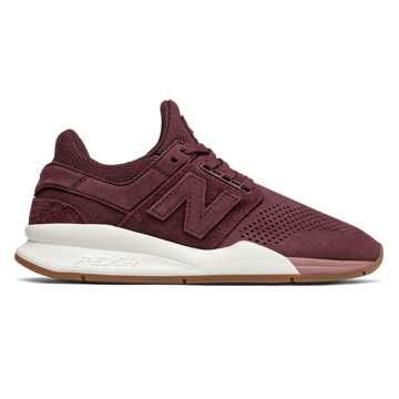 New Balance 247, Burgundy with Dark Oxide