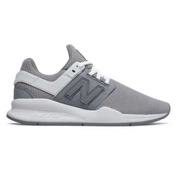 New Balance 247, Steel with White