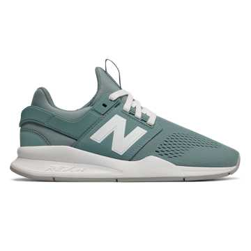 New Balance 247 Classic, Smoke Blue with White