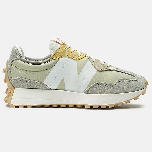 New Balance 327系列女款复古休闲鞋, WS327MS