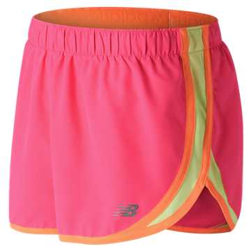 New Balance Accelerate 2.5 Inch Short, Alpha Pink