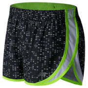 New Balance Accelerate 2.5 Inch Printed Short, Black