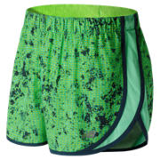 New Balance Accelerate 2.5 Inch Printed Short, Lime Glo