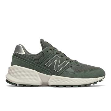 New Balance Fresh Foam 574 Sport, Slate Green with Sea Salt