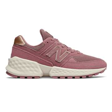 New Balance Fresh Foam 574 Sport, Twilight Rose with Sea Salt