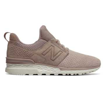 New Balance 574 Sport Decon, Conch Shell with Flat White