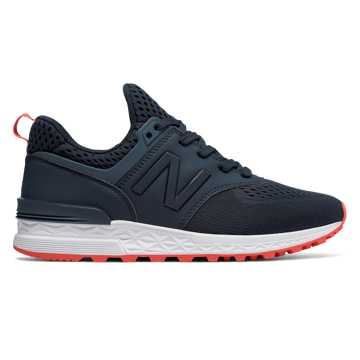 New Balance 574 Sport, Galaxy with Flame