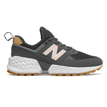 New Balance 574 Sport, Magnet with Oyster Pink & Tan