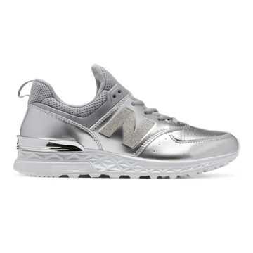 New Balance 574 Sport, Silver