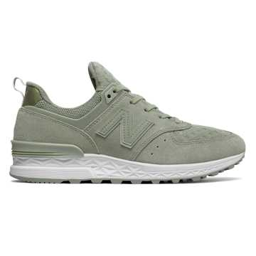 New Balance 574 Sport, Silver Mint