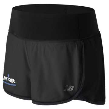 New Balance Run for Life Impact 3 Inch Short, Black