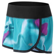 NB Impact 3 Inch Printed Short, Pisces with Black & Purple