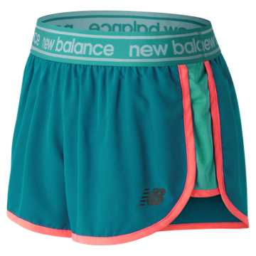 New Balance Accelerate 2.5 Inch Short, Lake Blue
