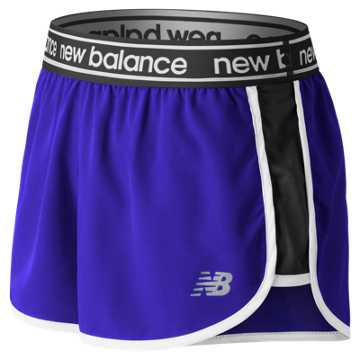 New Balance Accelerate 2.5 Inch Short, UV Blue