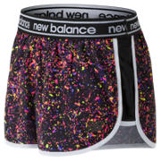 NB Printed Accelerate 2.5 Inch Short, Black Multi