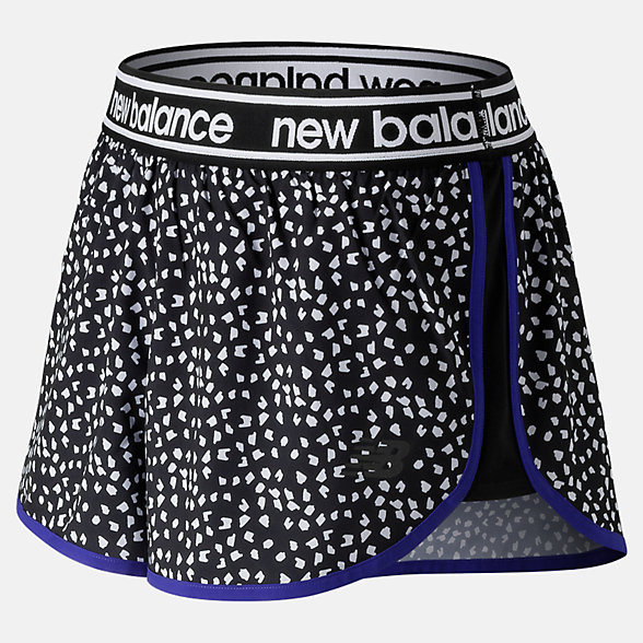 New Balance Printed Accelerate 2.5 Inch Short, WS81146BPT