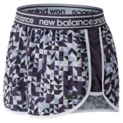 New Balance Printed Accelerate 2.5 Inch Short, Elderberry