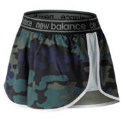 New Balance Printed Accelerate 2.5 Inch Short, Faded Rosin