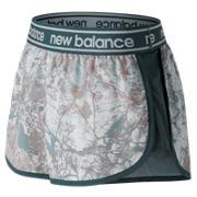 New Balance Printed Accelerate 2.5 Inch Short, Himalayan Pink