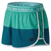 New Balance Printed Accelerate 2.5 Inch Short, Lake Blue