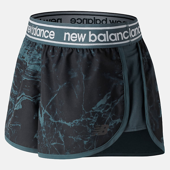 New Balance Printed Accelerate 2.5 Inch Short, WS81146PTH