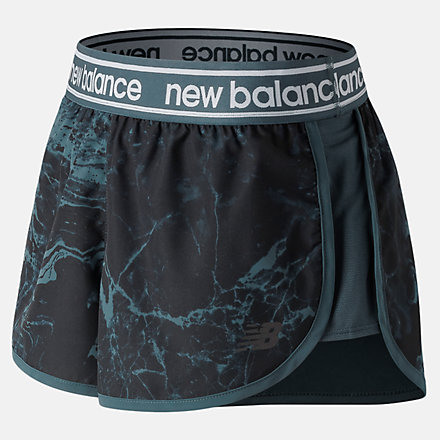 New Balance Printed Accelerate 2.5 Inch Short, WS81146PTH image number null