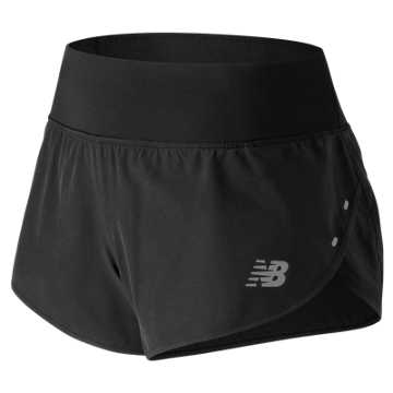 New Balance 3 Inch Impact Short, Black