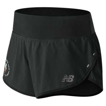 New Balance NYC Marathon Impact Short 3 In, Black