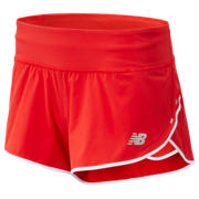 New Balance Short Impact 8 cm, Velocity Red