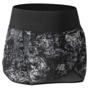 New Balance 3 Inch Printed Impact Short, Black Multi