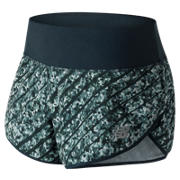 New Balance NYC Marathon 3 Inch Printed Impact Short, Galaxy