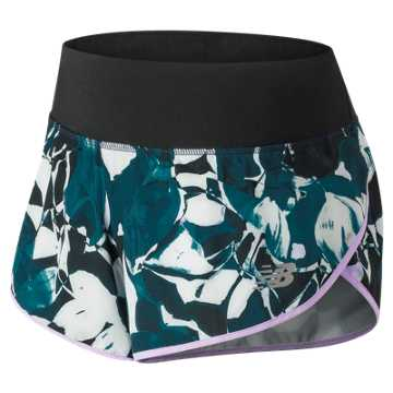 New Balance 3 Inch Printed Impact Short, North Sea