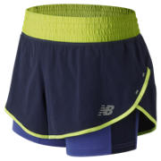 NB 4 Inch Impact Short, Blue Iris