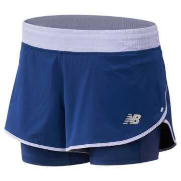 New Balance 4 Inch Impact Short, Techtonic Blue