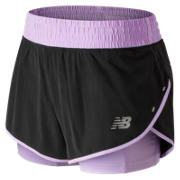 New Balance 4 Inch Impact Short, Violet Glo