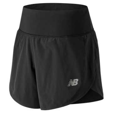 New Balance 5 Inch Impact Short, Black