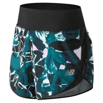 New Balance 5 Inch Printed Impact Short, North Sea