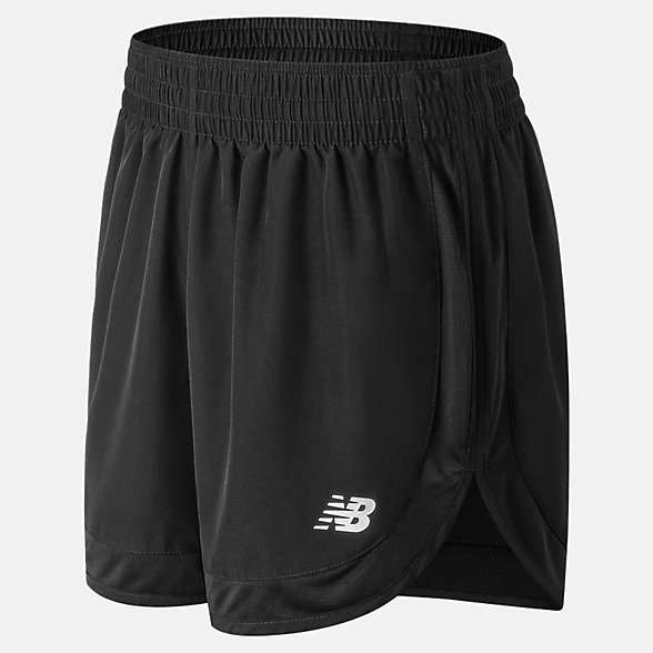 New Balance Accelerate 5 Inch Short, WS81294BK