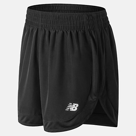 New Balance Accelerate 5 Inch Short, WS81294BK image number null