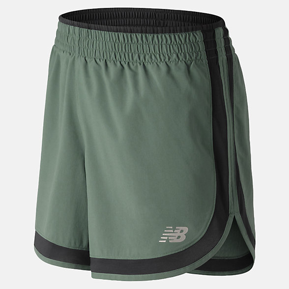 New Balance Accelerate 5 Inch Short, WS81294FRO