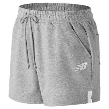 New Balance NB Athletics Knit Short, Athletic Grey