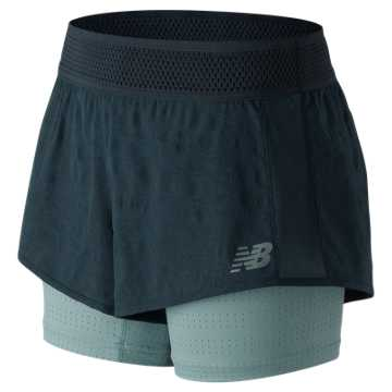 New Balance Q Speed Mesh Short, Galaxy